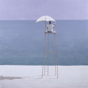 Beach Guard, 2004 by Lincoln Seligman