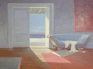 Beach House, 1995 by Lincoln Seligman