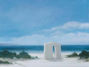 Beach Tent, 2012 by Lincoln Seligman