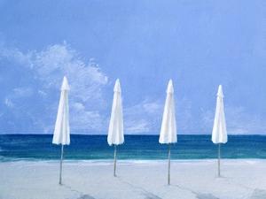 Beach Umbrellas, 2005 by Lincoln Seligman