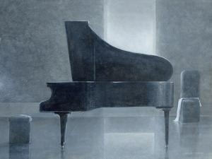 Black Piano, 2004 by Lincoln Seligman