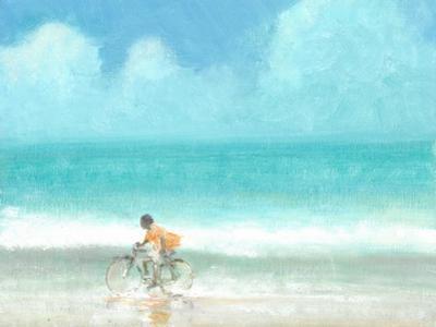 Boy on a Bike, 2015 by Lincoln Seligman