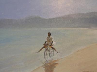 Boy on a Bike by Lincoln Seligman