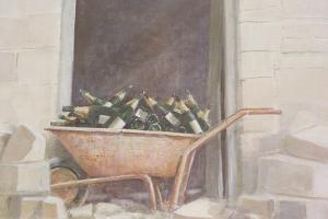 Champagne Wheelbarrow, 1985 by Lincoln Seligman