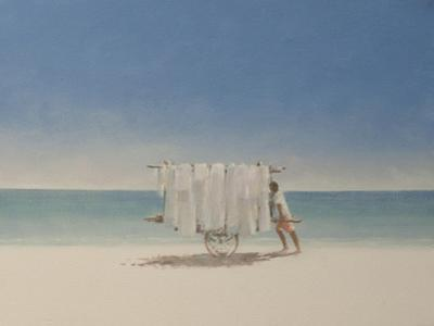 Cuba Beach Seller, 2010 by Lincoln Seligman
