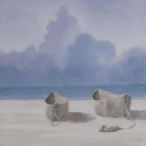 Fishermen's Dugout, Kilifi, 2012 by Lincoln Seligman