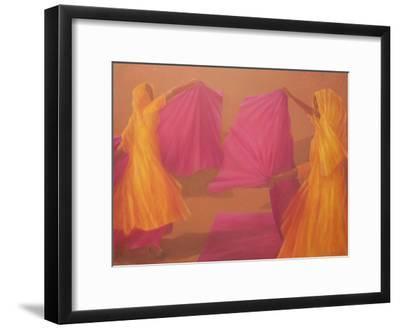 Folding Saris, 2010