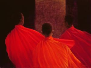 Four Monks by Lincoln Seligman