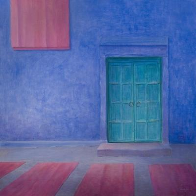 Green Door Jodhpur, 2010 by Lincoln Seligman