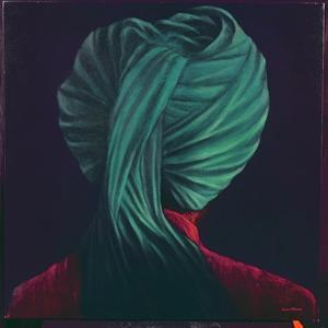 Green Turban by Lincoln Seligman