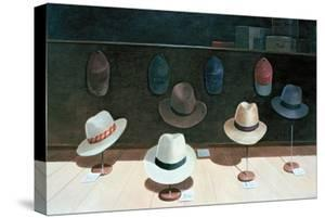 Hat Shop, 1990 by Lincoln Seligman