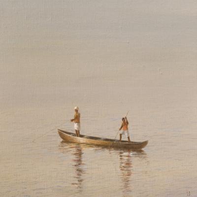 Kerala Fishermen by Lincoln Seligman
