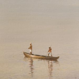 Kerala Fishermen by Lincoln Seligman