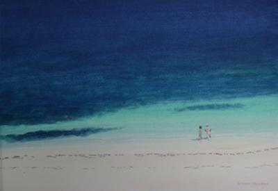 Kilifi Beach by Lincoln Seligman