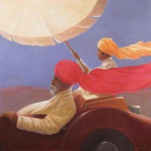 Maharaja at Speed, 2010 by Lincoln Seligman
