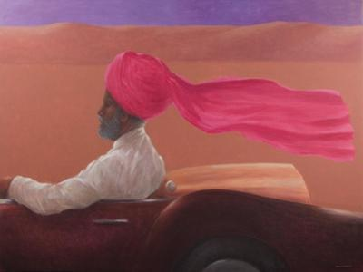 Maharajah at Speed 2 by Lincoln Seligman