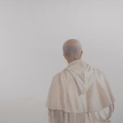 Monk, Sant'Antimo I, 2012 by Lincoln Seligman