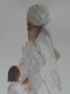 Old Man and Child by Lincoln Seligman