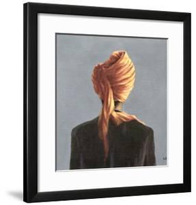 Orange Turban, 2004 by Lincoln Seligman