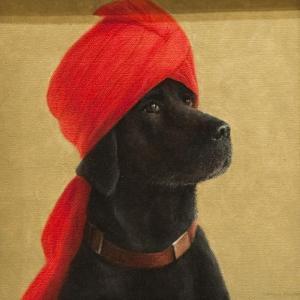 Pensive Maharaja, 2010 by Lincoln Seligman