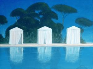 Pool Tents by Lincoln Seligman