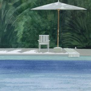 Poolside, 1994 by Lincoln Seligman