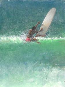 Surfing 1, Sri Lanka, 2015 by Lincoln Seligman