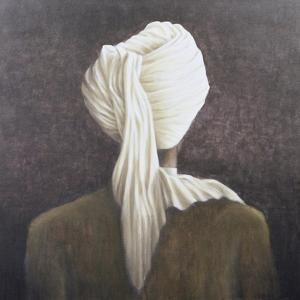White Turban, 2005 by Lincoln Seligman