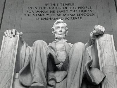 Lincoln-Daniel Chester French-Photographic Print
