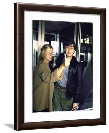 Linda and Paul Mccartney-David Mcgough-Framed Premium Photographic Print