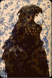 Black parrot 2 by Linda Arthurs