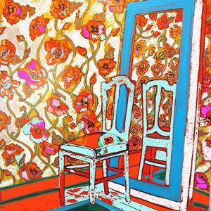 Chair And Mirror by Linda Arthurs
