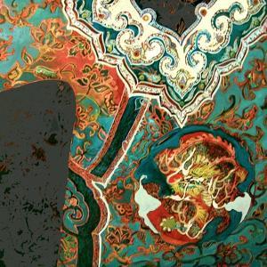 Chinese jacket by Linda Arthurs