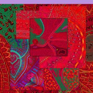 COLLAGE OF COLOR by Linda Arthurs