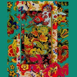 Collage of patterns by Linda Arthurs