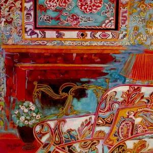 Fireplace by Linda Arthurs