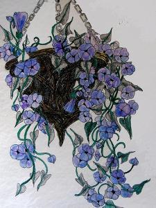 Hanging flowers by Linda Arthurs