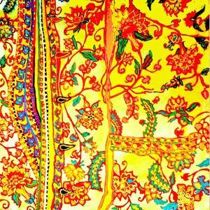 Man's Shirt Embroidered India by Linda Arthurs
