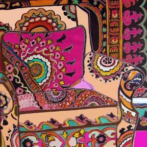 Suzani Chair by Linda Arthurs
