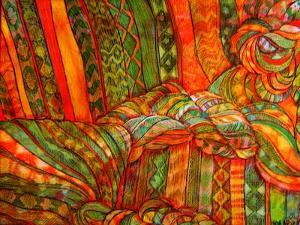 Textile Portrait by Linda Arthurs