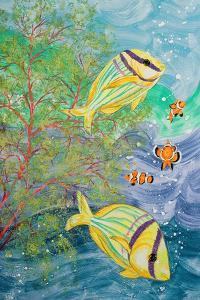 Aquamarina I by Linda Baliko