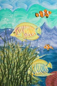 Aquamarina II by Linda Baliko