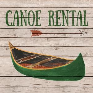 Camping Rentals I by Linda Baliko