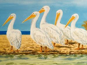 Coastal Flock I by Linda Baliko