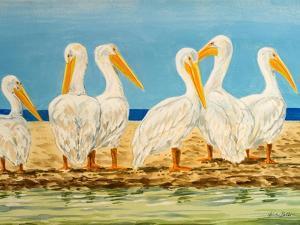 Coastal Flock II by Linda Baliko