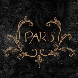 Elegant Paris Gold I by Linda Baliko