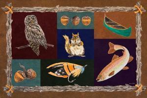 Elements of Nature Rectangle I by Linda Baliko