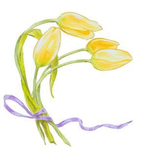 Floral V by Linda Baliko