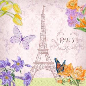 Parisian Meadow I by Linda Baliko
