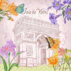 Parisian Meadow II by Linda Baliko